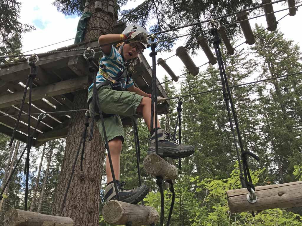 activiteiten in arosa klimpark klimroutes