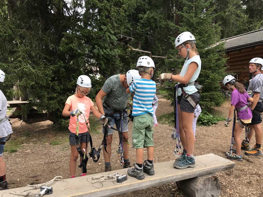 activiteiten in arosa klimmen in het klimpark