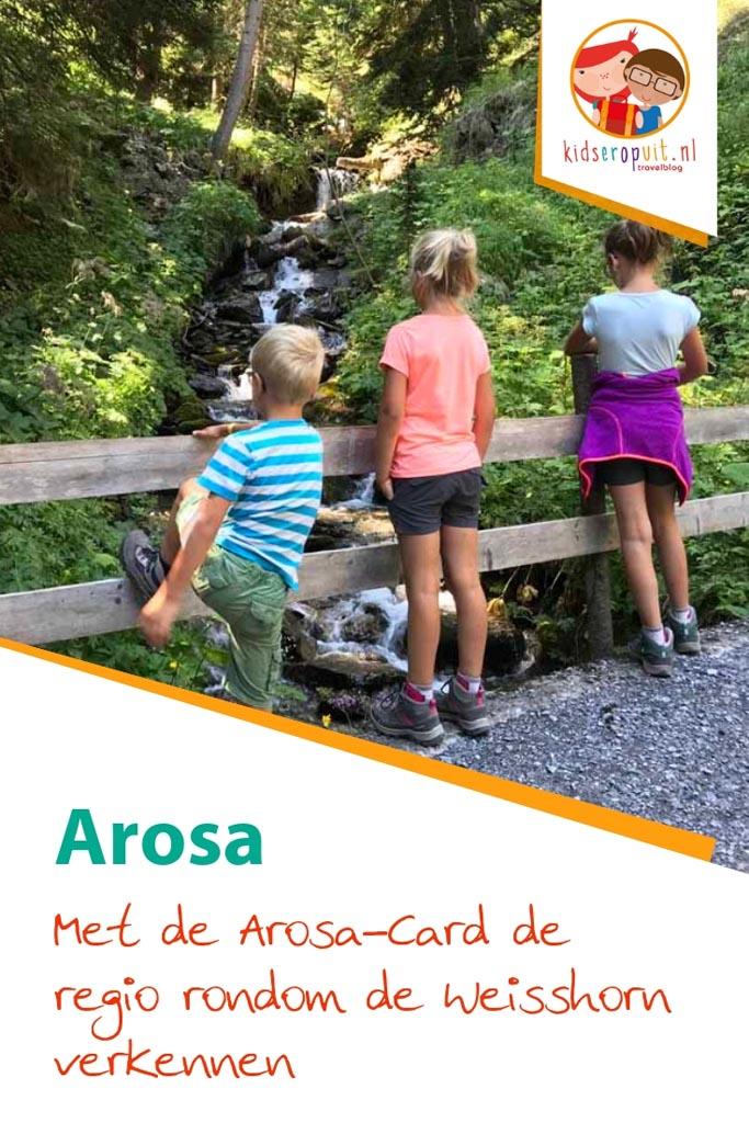 Ontdek het Zwitserse Arosa rondom de Weisshorn.