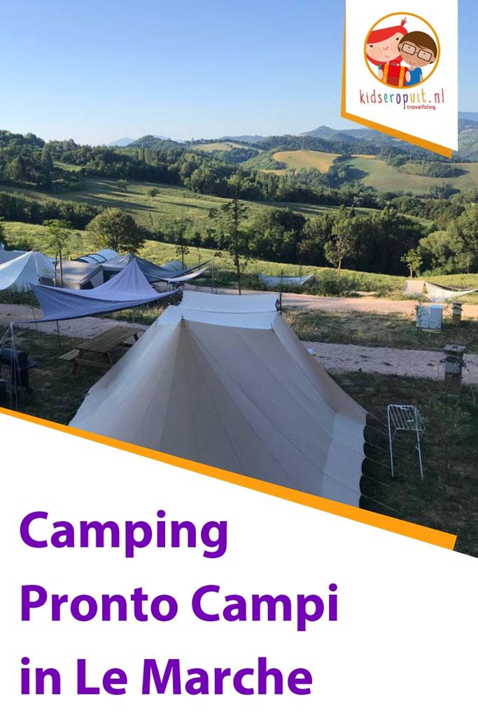 Camping Pronto Campi in Le Marche, onze ervaringen.