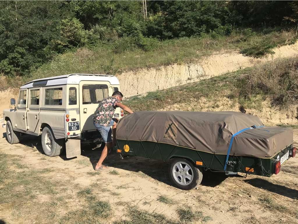 camping pronto campi landrover