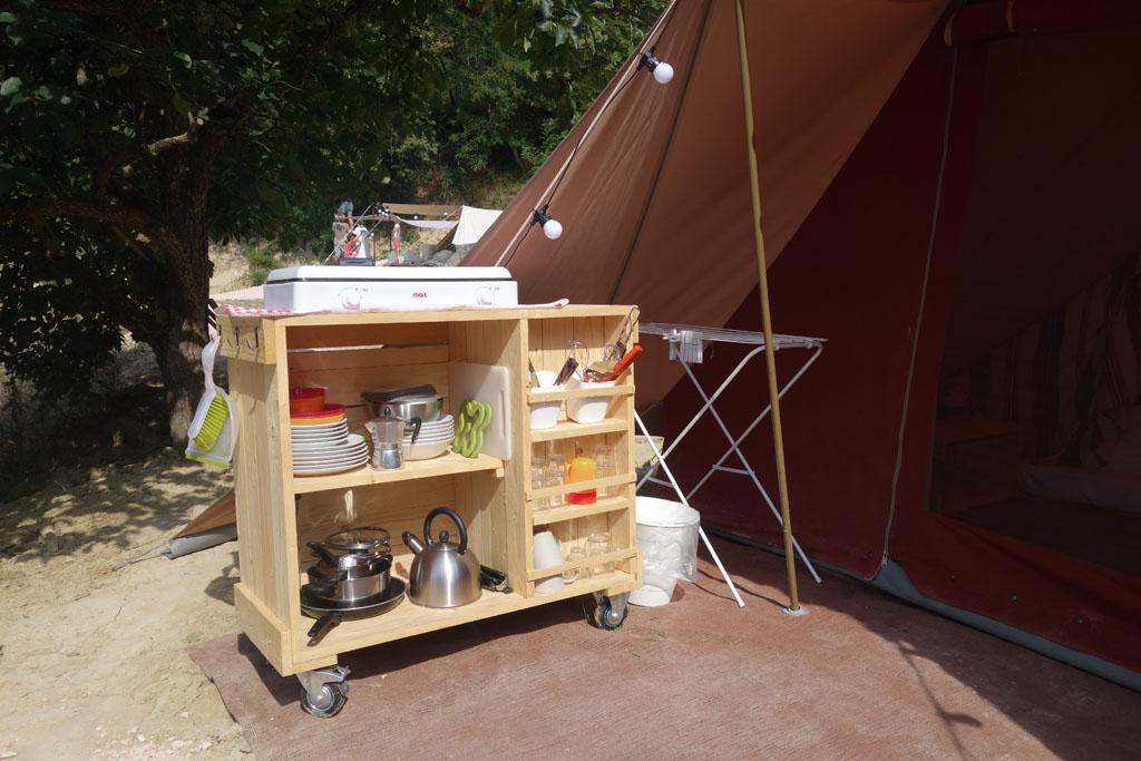 camping pronto campi keuken de waard tent