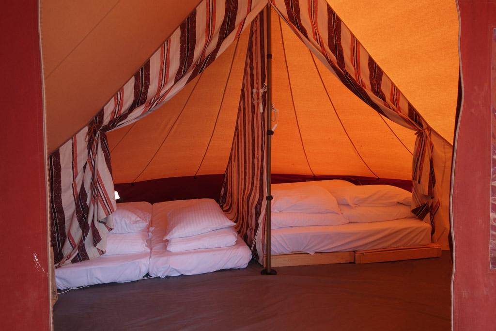 camping pronto campi bedden huurtent