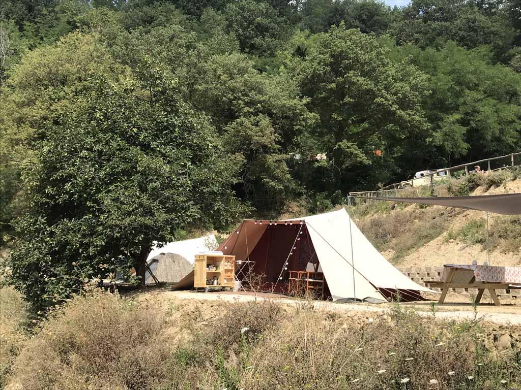 camping pronto campi De Waard huurtent