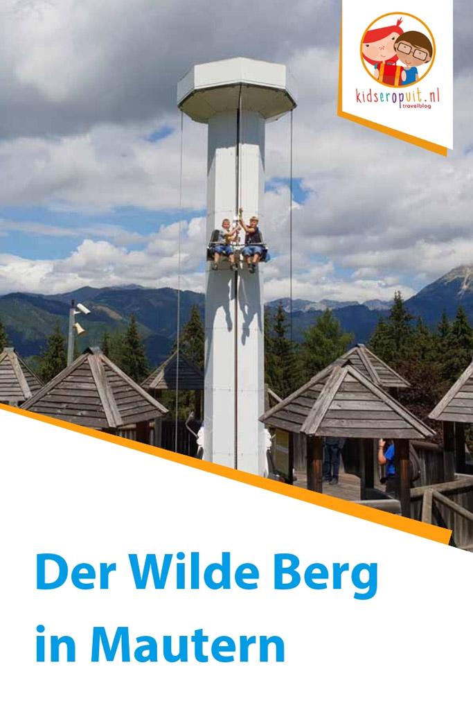 Der Wilde Berg in Mautern is een fantastische plek om te spelen en kennis te maken met de Alpendieren.