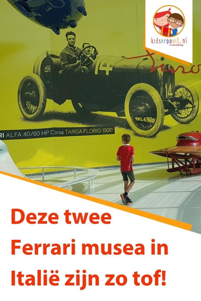 Ontdek de Ferrari musea in Maranello en Modena.