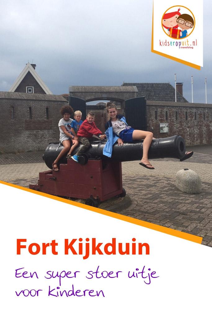Fort Kijkduin, wat is daar veel te doen voor kinderen.