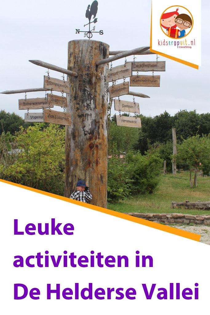 De leukste kinderactivieiten in de Helderse Vallei.