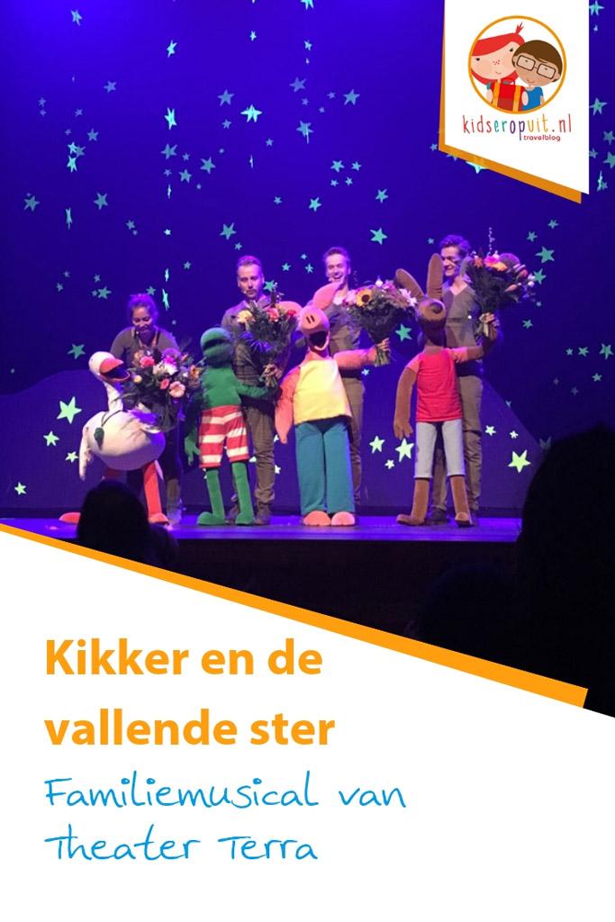 Theatervoorstelling 'Kikker en de vallende ster' van Theater Terra.