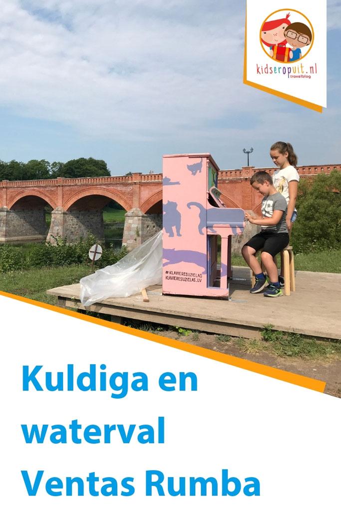 Kuldiga en de breedste waterval van Europa