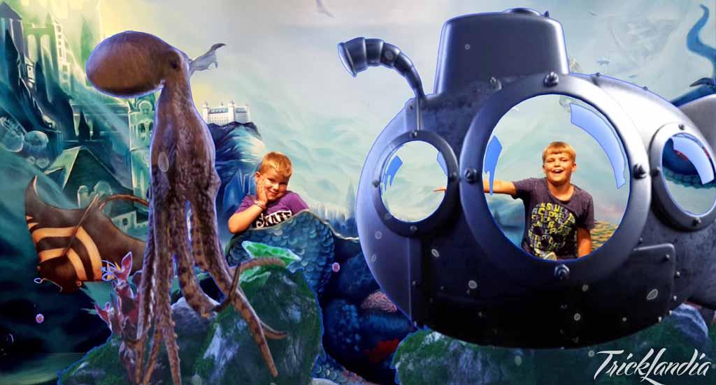 En zo zit mijn ene kind ineens in een onderzeeër en is de ander een zeemeerman