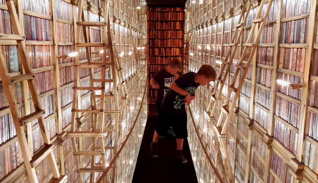 Dat is nog eens een bibliotheek