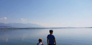 Liptovská Mara, het meer van Liptov is prachtig liptov-regio-in-slowakije