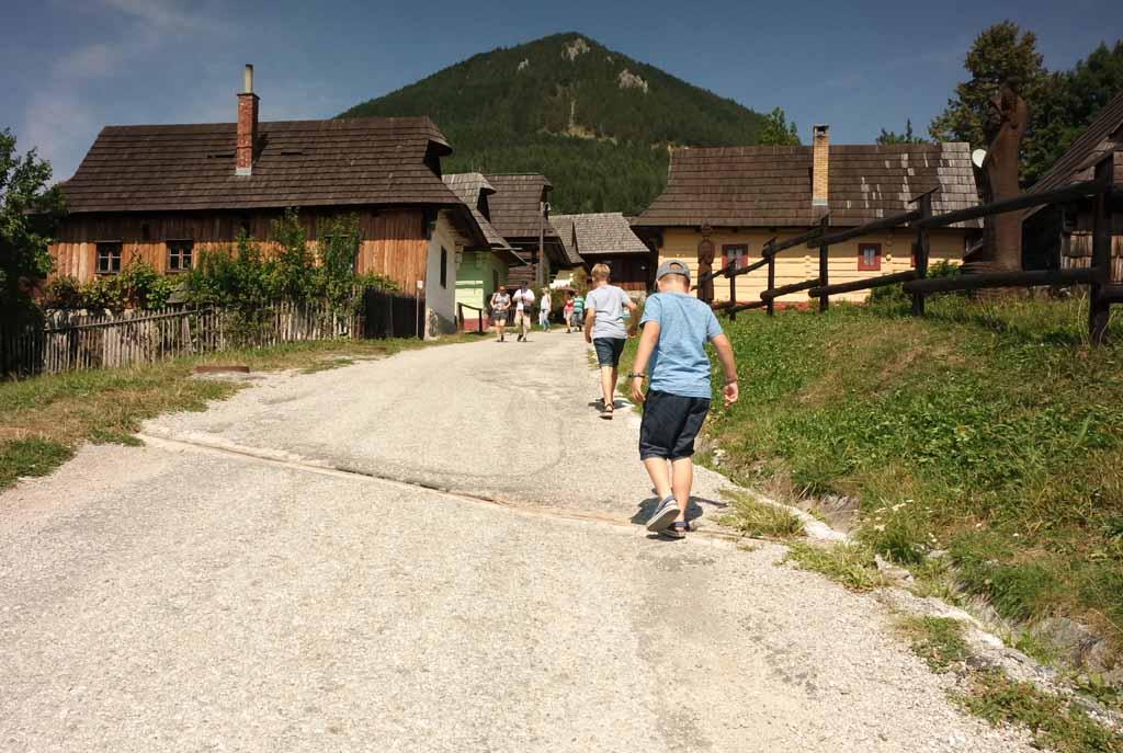 Op naar het UNESCO dorpje Vlkolínec