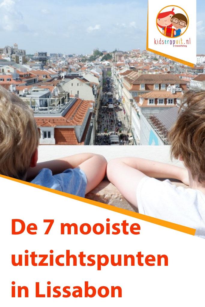 De 7 mooiste uitzichtspunten in Lissabon.