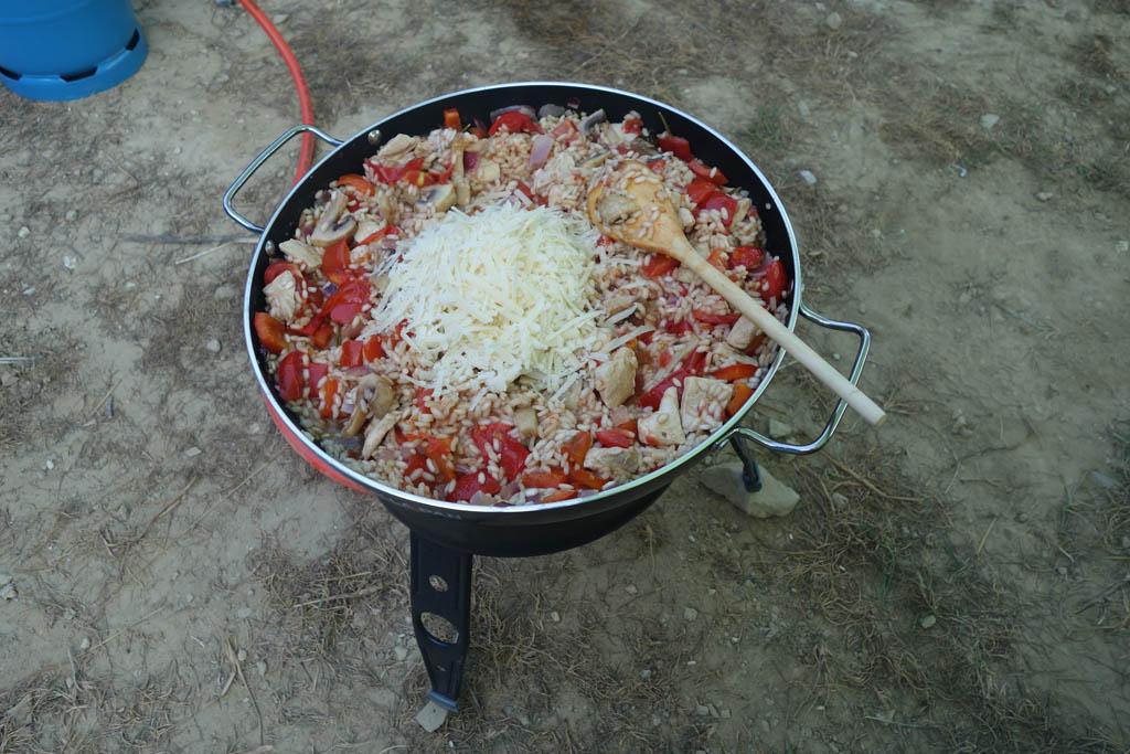 cadac paella pan risotto recept