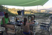 obelink cyprus kampeertafel voldoende ruimte