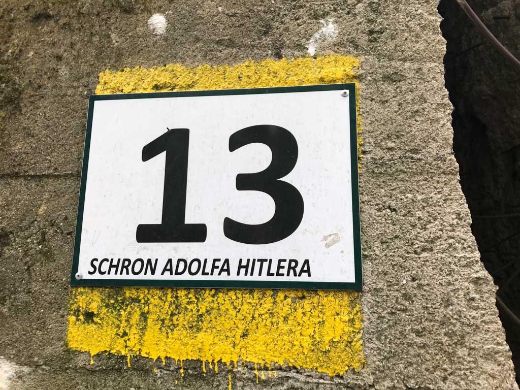 De bunker van Hitler is niet te missen tijdens een bezoek aan Wolfsschanze.