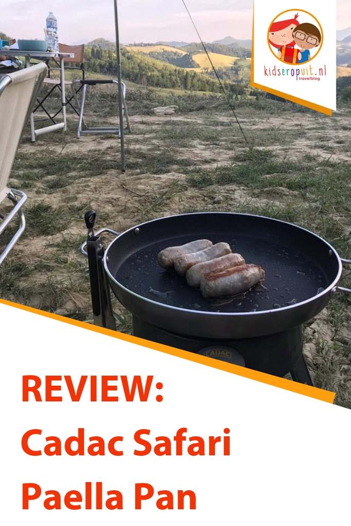Hoe handig is de Cadac Safari Paella Pan voor gezinnen?