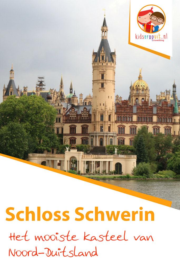 Schloss Schwerin is het mooiste kasteel van Noord-Duitsland.