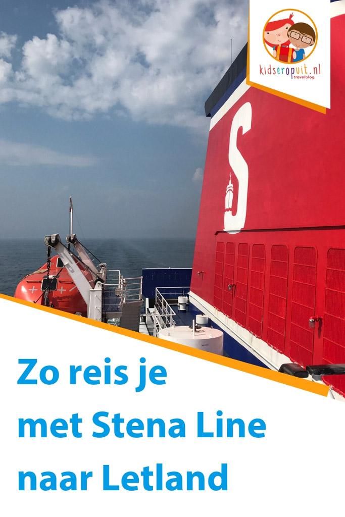 Met Stena Line van Travemünde naar Liepaja in Letland.