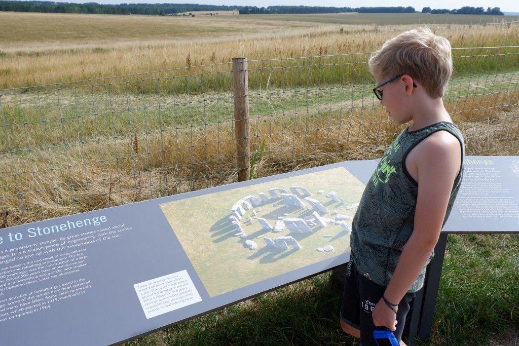 Stonehenge bezoeken met kinderen