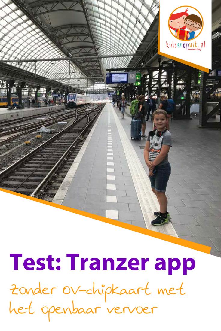 Zonder OV-chipkaart met het openbaar vervoer? Ontdek de app van Tranzer.