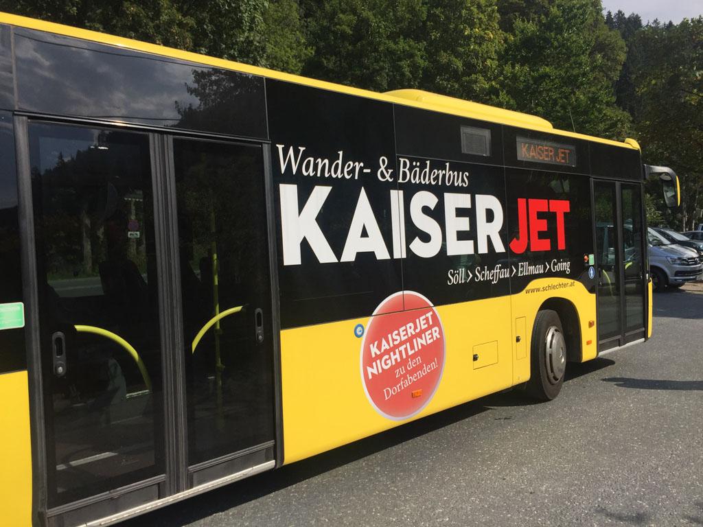 Wilder Kaiser heeft een gratis wandelbus.