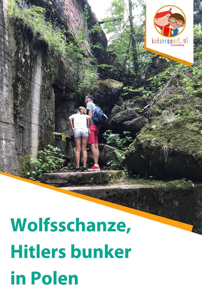 Wolfsschanze, het hoofdkwartier van Hitler in Polen.