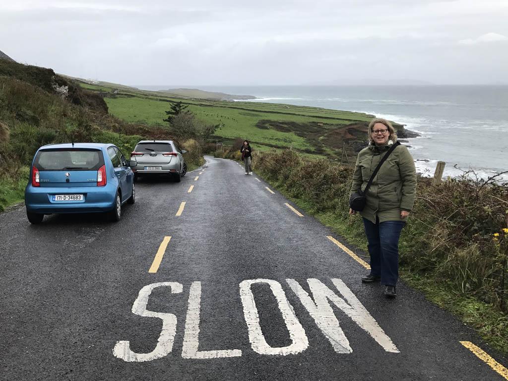 Ook tijdens mijn reis naar Ierland (zonder kinderen), huurde ik via Sunny Cars.