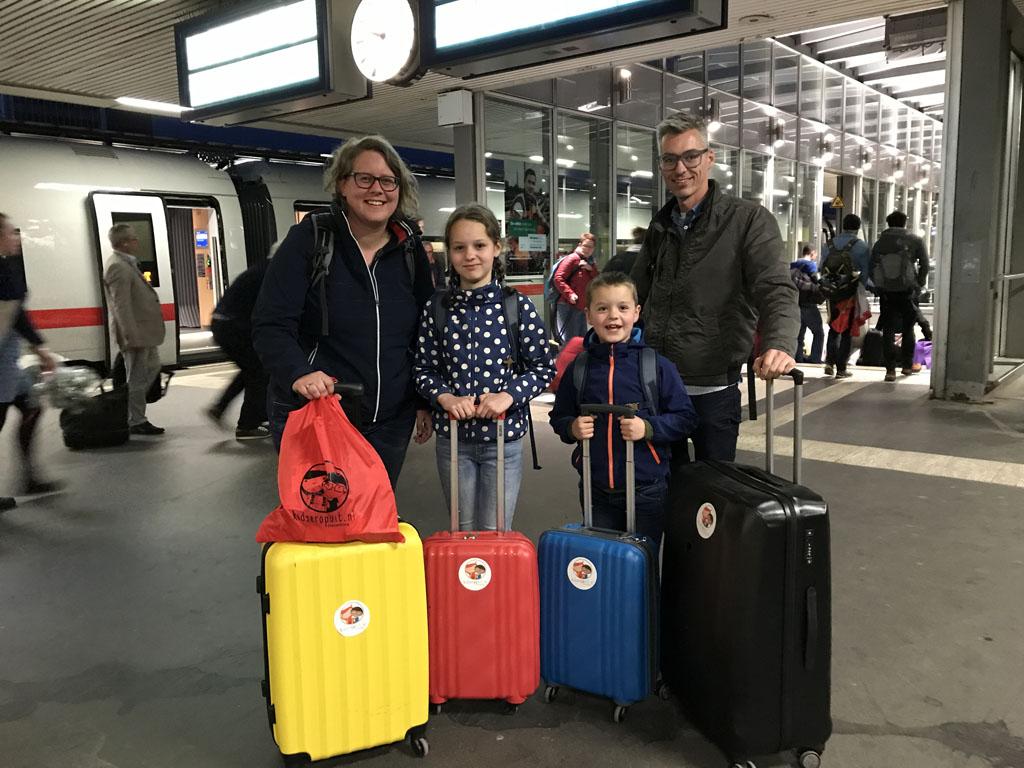 Yes, wij gaan Interrailen met het gezin!