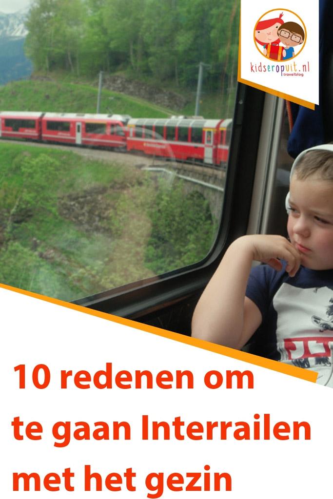 10 redenen om te gaan Interrailen met het gezin