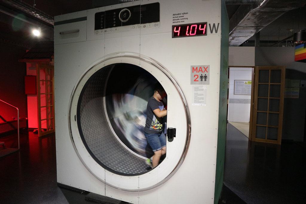 Kleine wasjes, grote wasjes... We draaien ze in deze wasmachine.