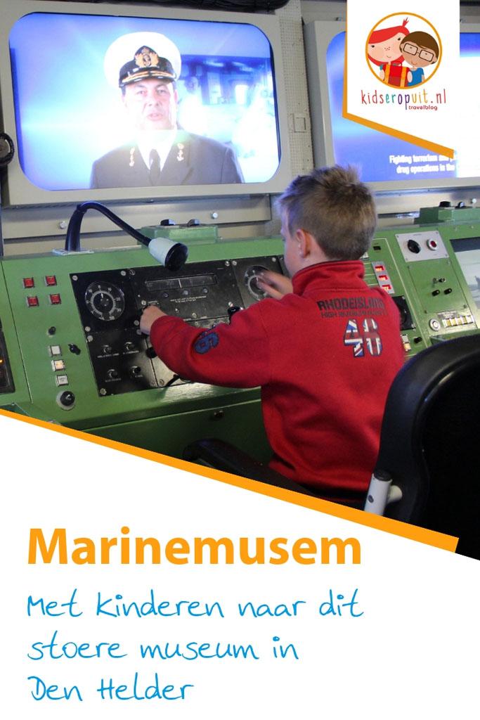 Marinemuseum in Den Helder: dit is er voor kinderen te doen