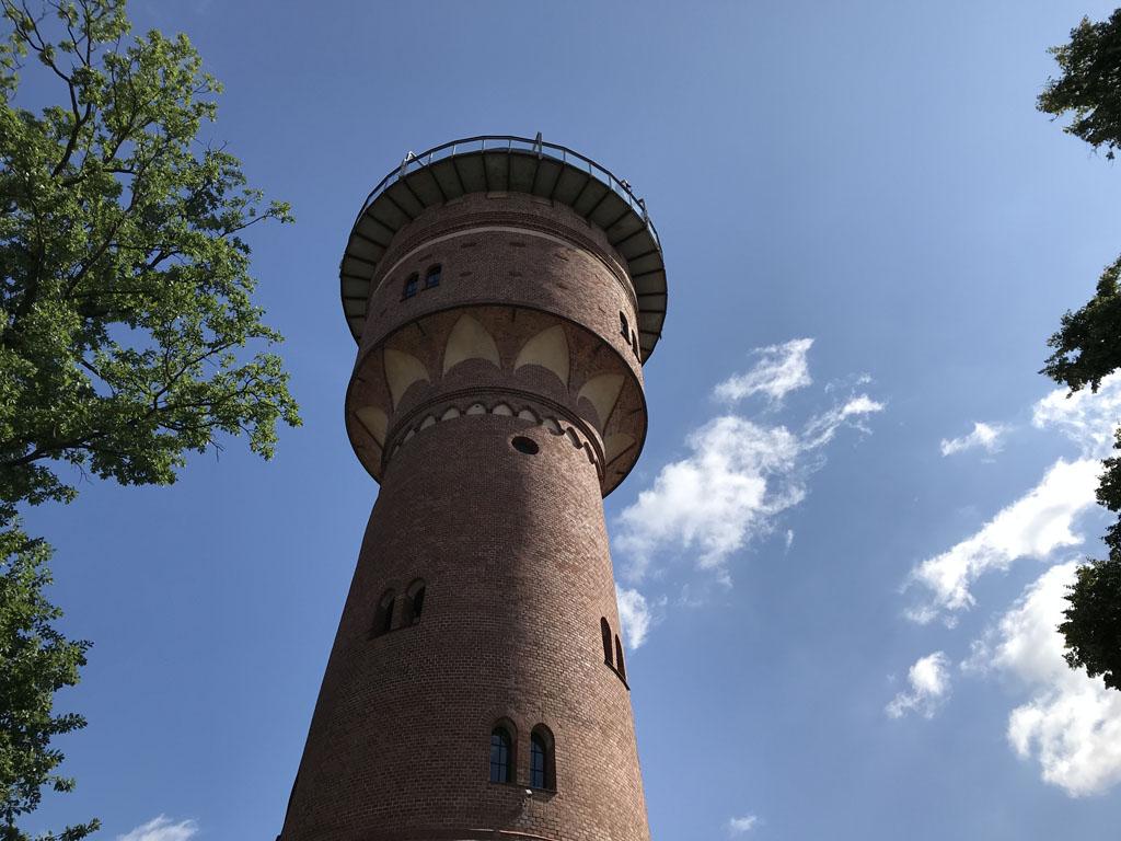 De watertoren van Gizycko.