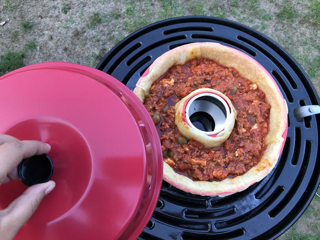 Yes, de ovenschotel is klaar!
