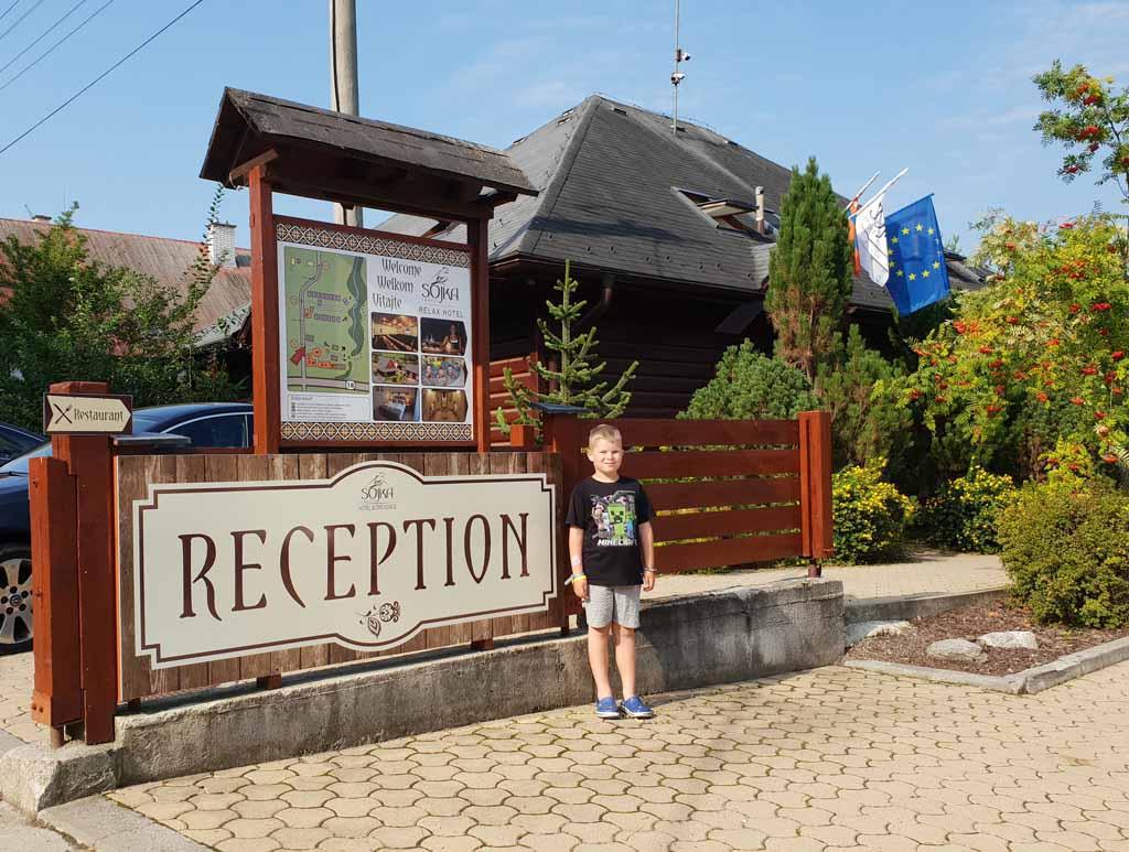 Sojka-Resort We zijn bij Sojka Resort in Malatiny, Slowakije