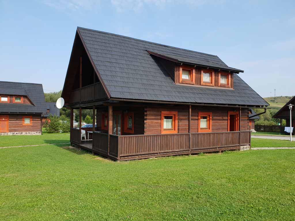 De vakantiehuizen van Magura Village