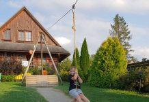 Sojka-Resort Nog één keertje met de kabelbaan mam