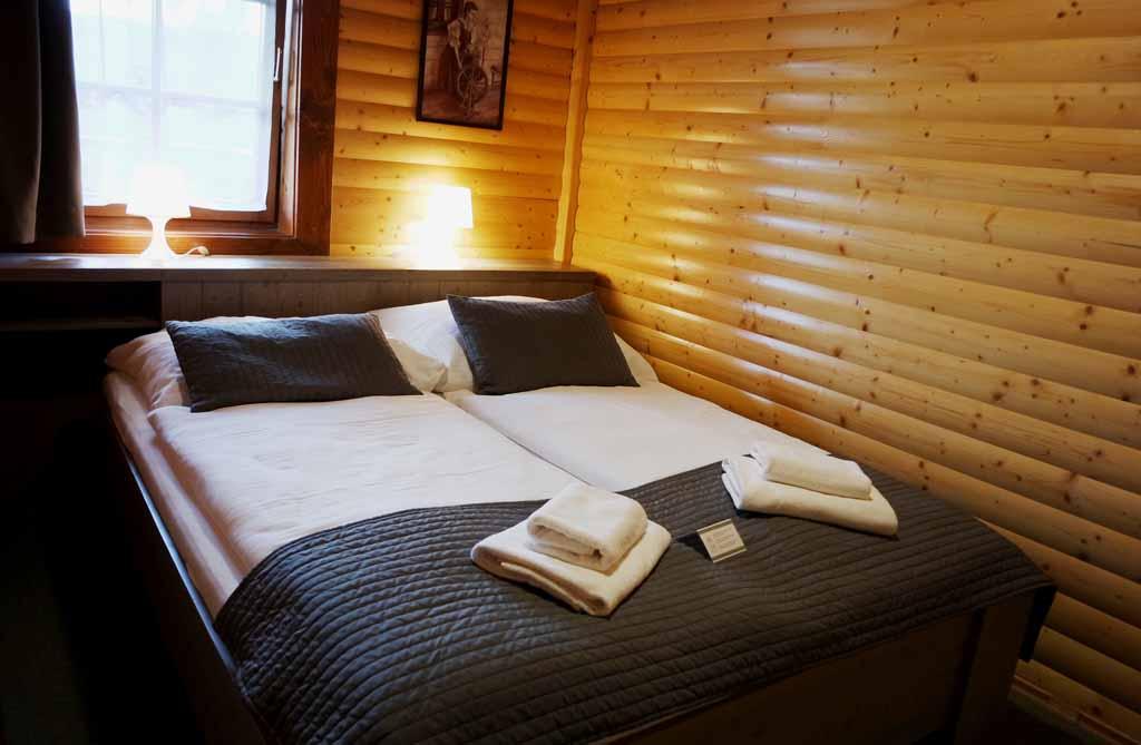 Onze slaapkamer met heerlijk comfortabel bed