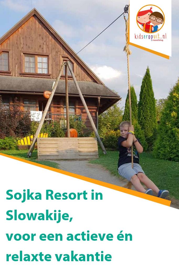 Sojka Resort in Slowakije, voor een actieve en relaxte gezinsvakantie