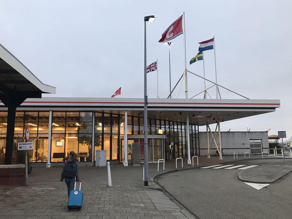 Op naar de terminal van Stena Line.