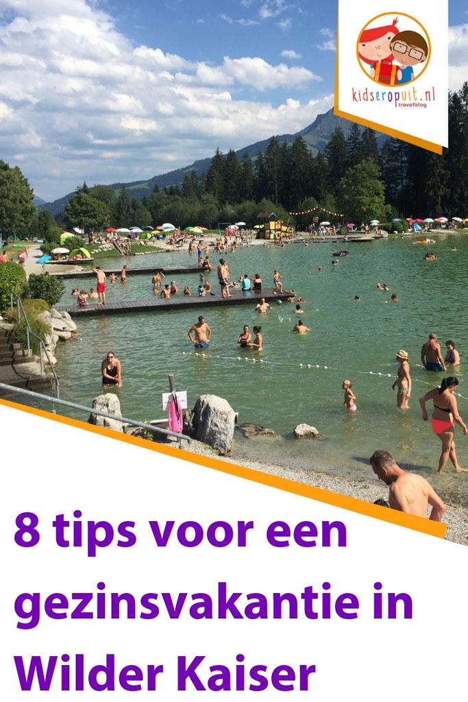 8 tips voor een vakantie in Wilder Kaiser met kinderen