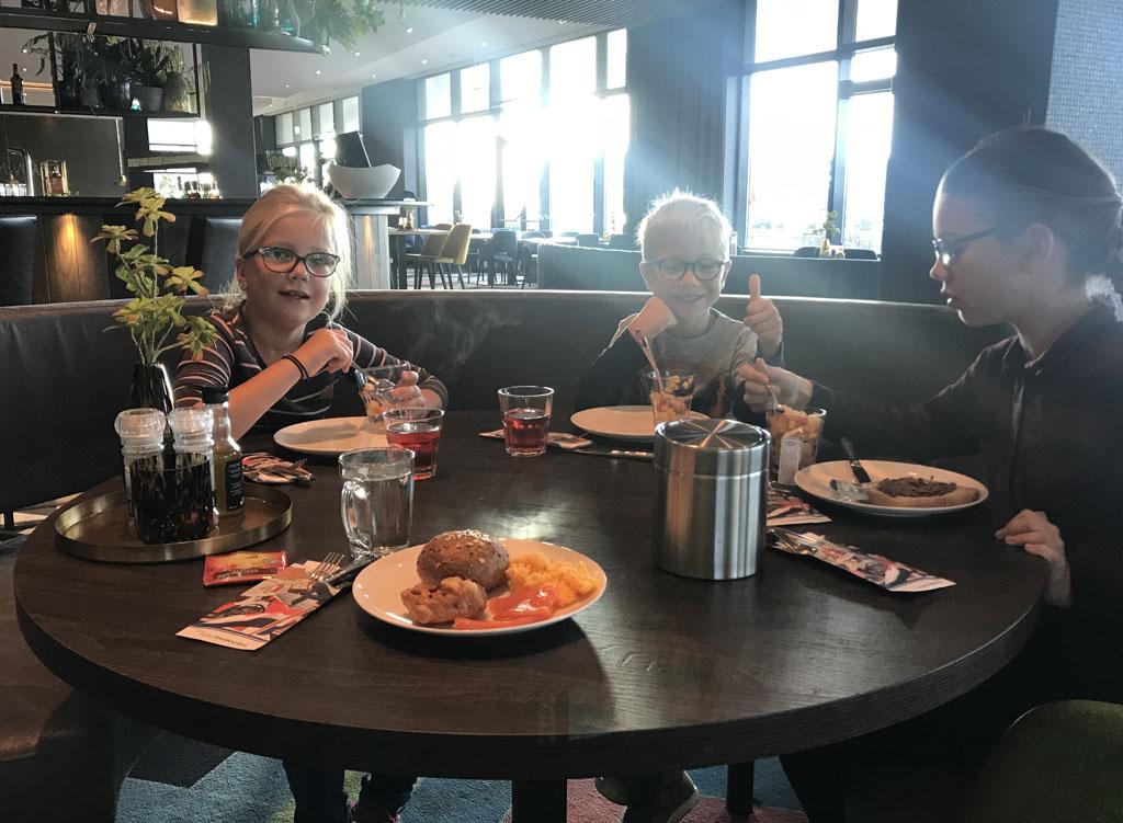 ontbijt van der valk hotel Leeuwarden