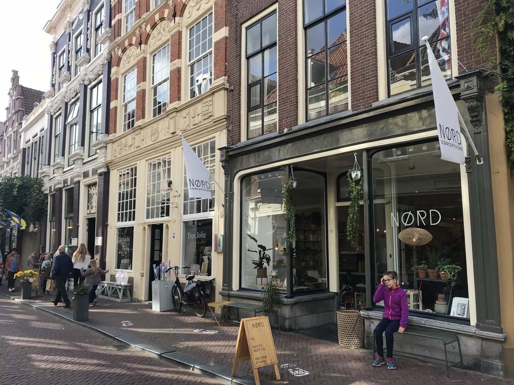 van der valk hotel Leeuwarden winkelstraatjes