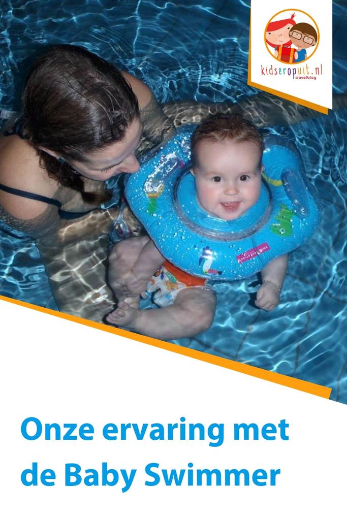 Onze ervaringen met de Baby Swimmer zwemband voor baby's