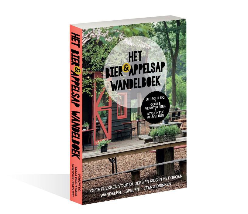 In het Bier&Appelsap Wandelboek staan meer dan dertig locaties in de regio's Utrecht, Utrechtse Heuvelrug en het Gooi waar je met je kinderen een frisse neus haalt in de natuur en kunt bijtanken bij een horecagelegenheid.
