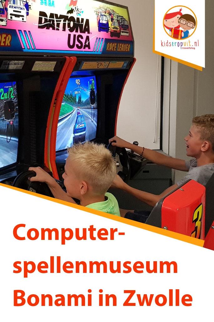 Onze ervaring met het Bonami Computerspellenmuseum in Zwolle.