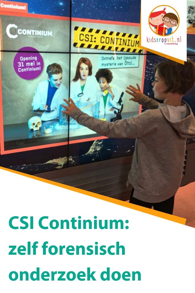 Zelf forensisch onderzoek doen bij CSI Continium in Kerkrade.