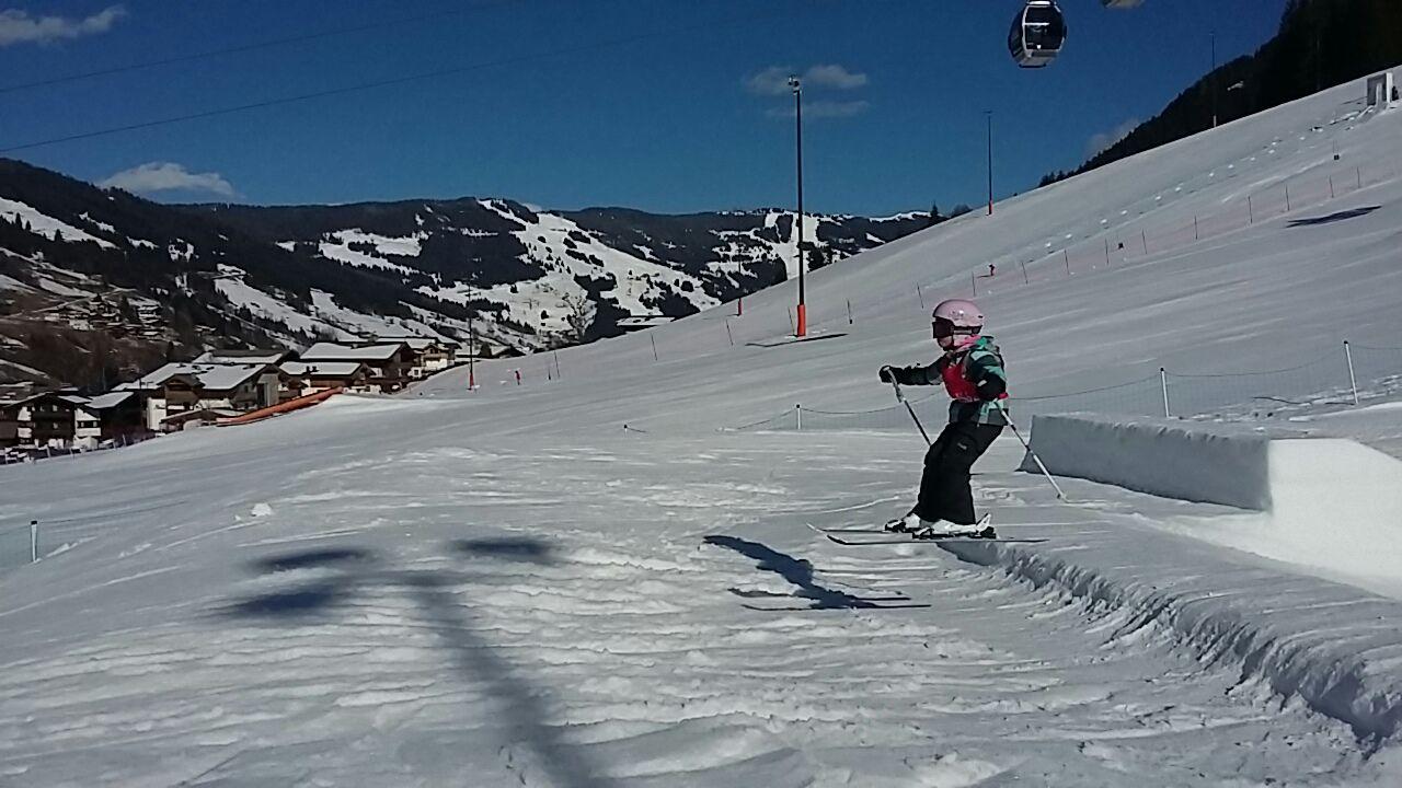 In Eben in Pongau zijn veel skimogelijkheden